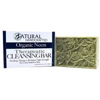 Neem Cleansing Bar 4oz -Ultra-Sensitive Skin-Soothing Therapy-Relieves Skin Irritation, Itching, Flaking, Dryness. (1 Bar)