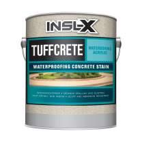 INSL-X CST230809A-01 TuffCrete Waterborne Acrylic Concrete Stain Paint, 1 Gallon, Gray Pearl