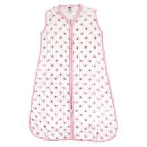 Hudson Baby Unisex Muslin Cotton Sleeveless Wearable Sleeping Bag, Sack, Blanket