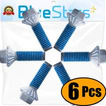 Ultra Durable DC60-40137A Washer Spider Hex Bolt DIRECT Replacement For OEM part by Blue Stars - Exact Fit for Samsung Kenmore Washers - Replaces AP4203183 206860 PS4205366 - PACK OF 6