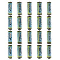 (20-Pack) HyperPS 3.2V LiFePo4 14430 (14 x 43mm) 400mAh Rechargeable Battery for Solar Panel Light, Tooth Brush, Shaver, Flashlight