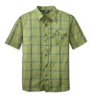 Outdoor Research Men's Jinx S/S Shirt, Palm/Hops, Small
