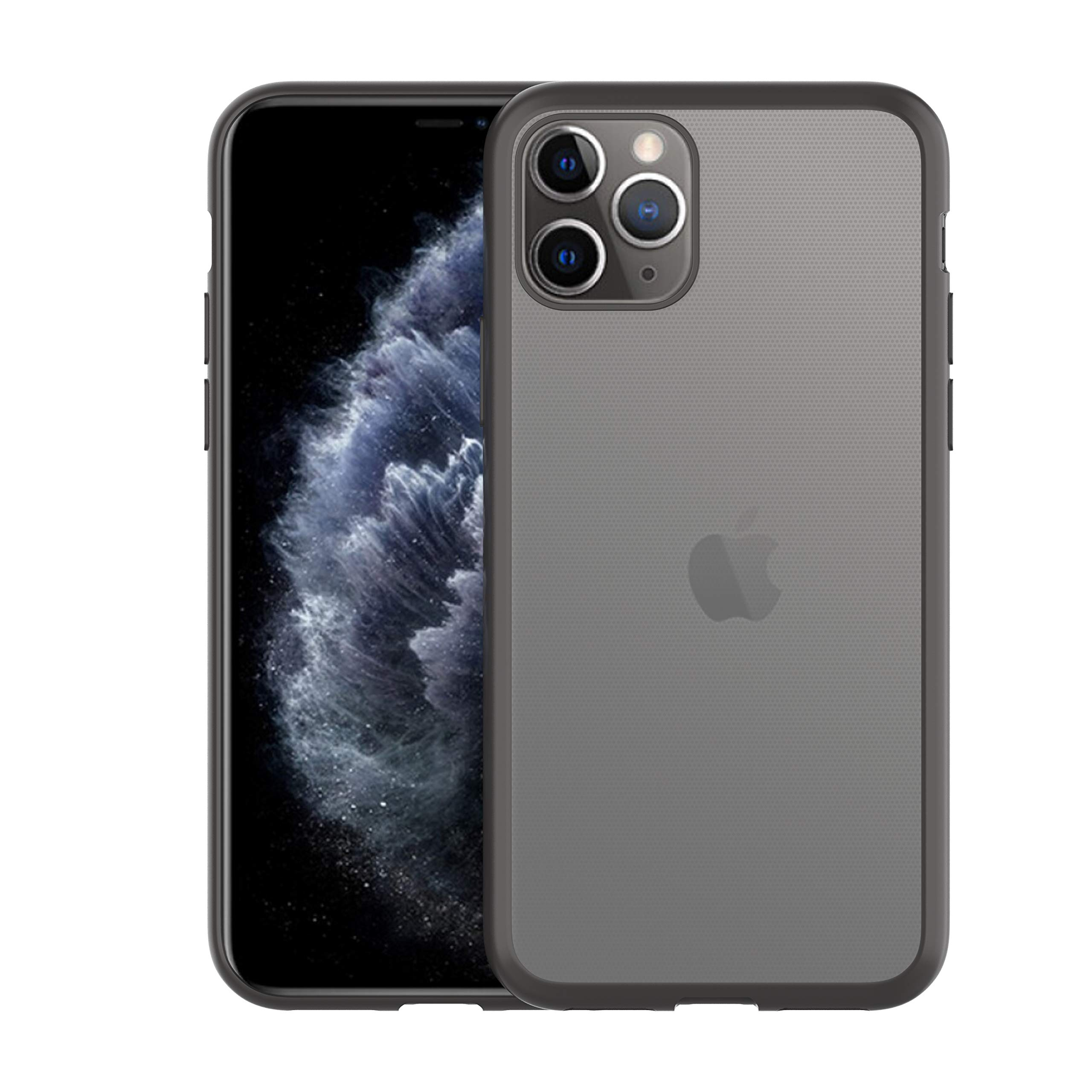 COWCHUHNG Phone Case,Compatible with iPhone 11 Pro max,Ultra-Thin Soft TPU Material,Complete Protective Cover Against Falling(Black