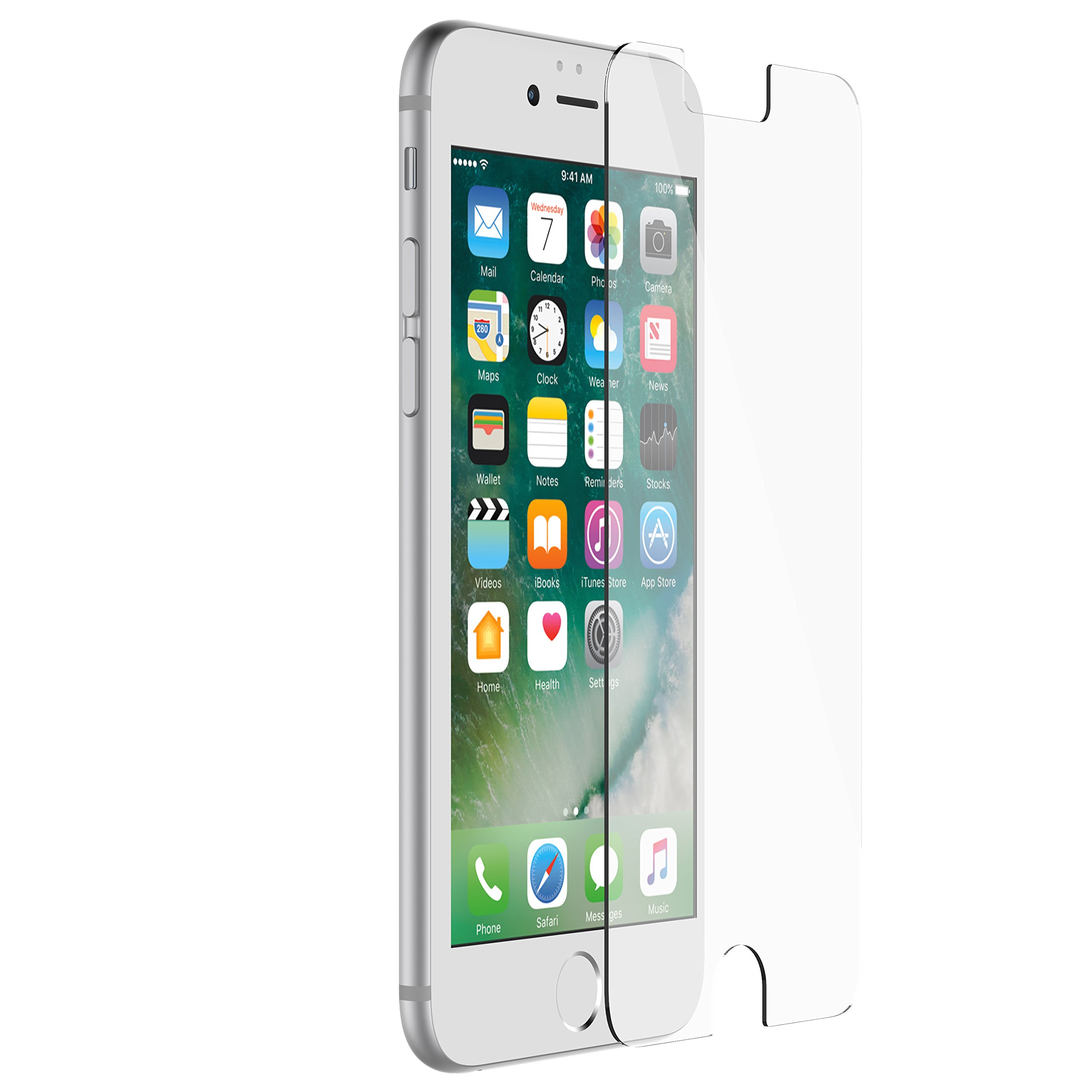 Otterbox Alpha Glass Series Screen Protector for Iphone 6/6s/7/8  - Retail Packaging - Clear