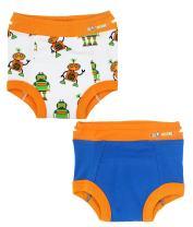 Ez Undeez Toddler Underwear Boys Padded Potty Training Pants, Easy Pull Ups