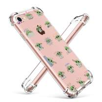 """oqpa for iPhone 6/6S Case Cartoon Character Funny Cute Fun TPU Design Cover for Girls Men Women Teen, Fashion Cool Unique Protective Aesthetic Clear Cases Small Yuda Baby (for iPhone 6/6S 4.7"""")"""
