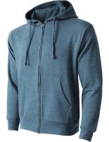 Hat and Beyond Mens Zip up Fleece Hoodie Sweatshirts Heavyweight Long Sleeve Active Jackets