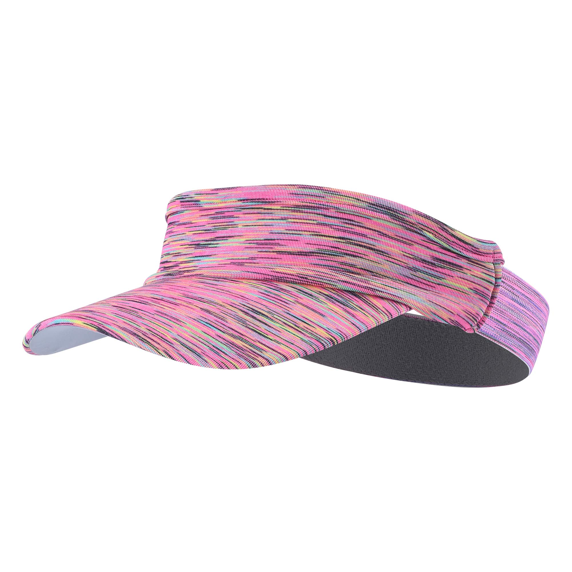 TEFITI Sun Visor Hat for Women Men, Adjustable Sports Hat for Golf Tennis Cycling Running Jogging