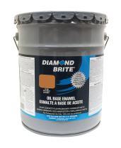 Diamond Brite Paint 31350 5-Gallon Oil Base All Purpose Enamel Paint   Chestnut