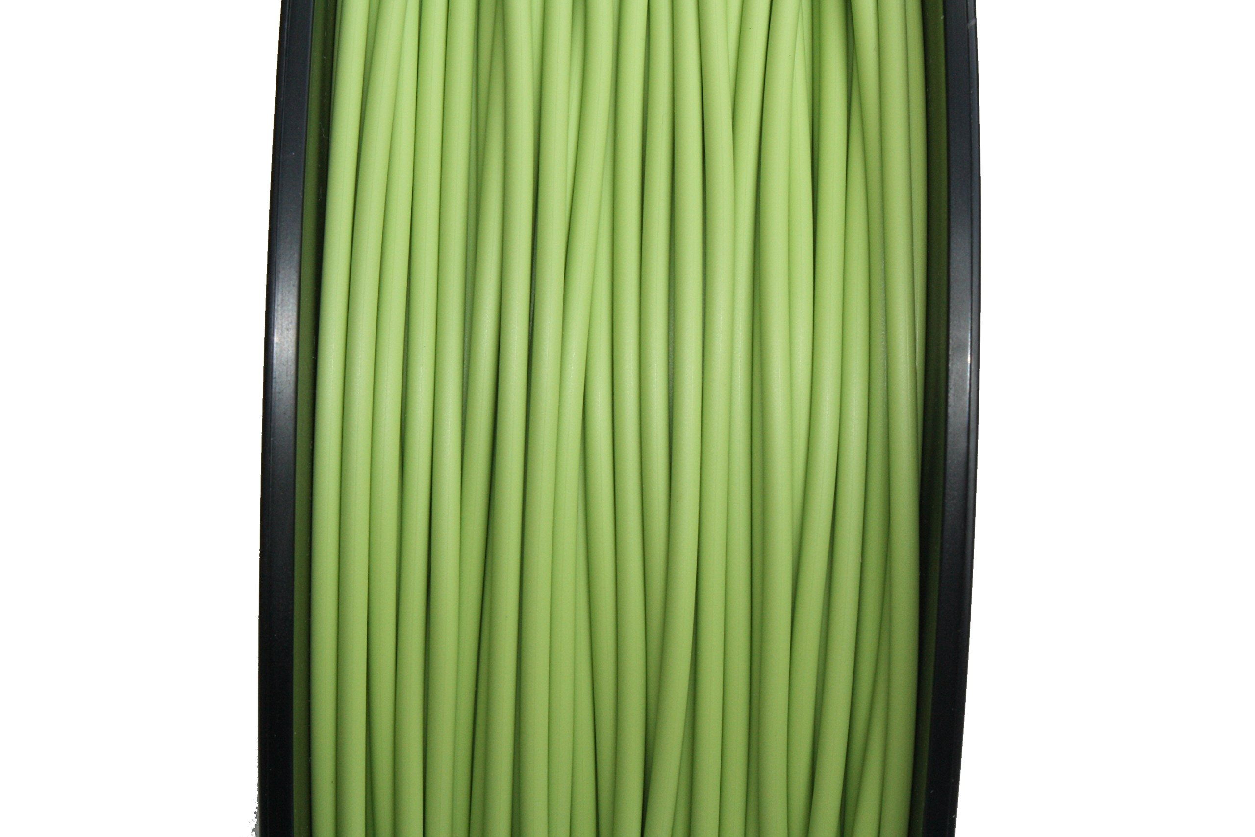 Greenery (Color of The Year 2017, Yellowish-Green Shade) 1.75mm 5KG Spool (11 lbs/roll) FilaCube PLA 2 (PLA 2nd Generation) 3D Printer Filament [Made in USA] Pantone 15-0343