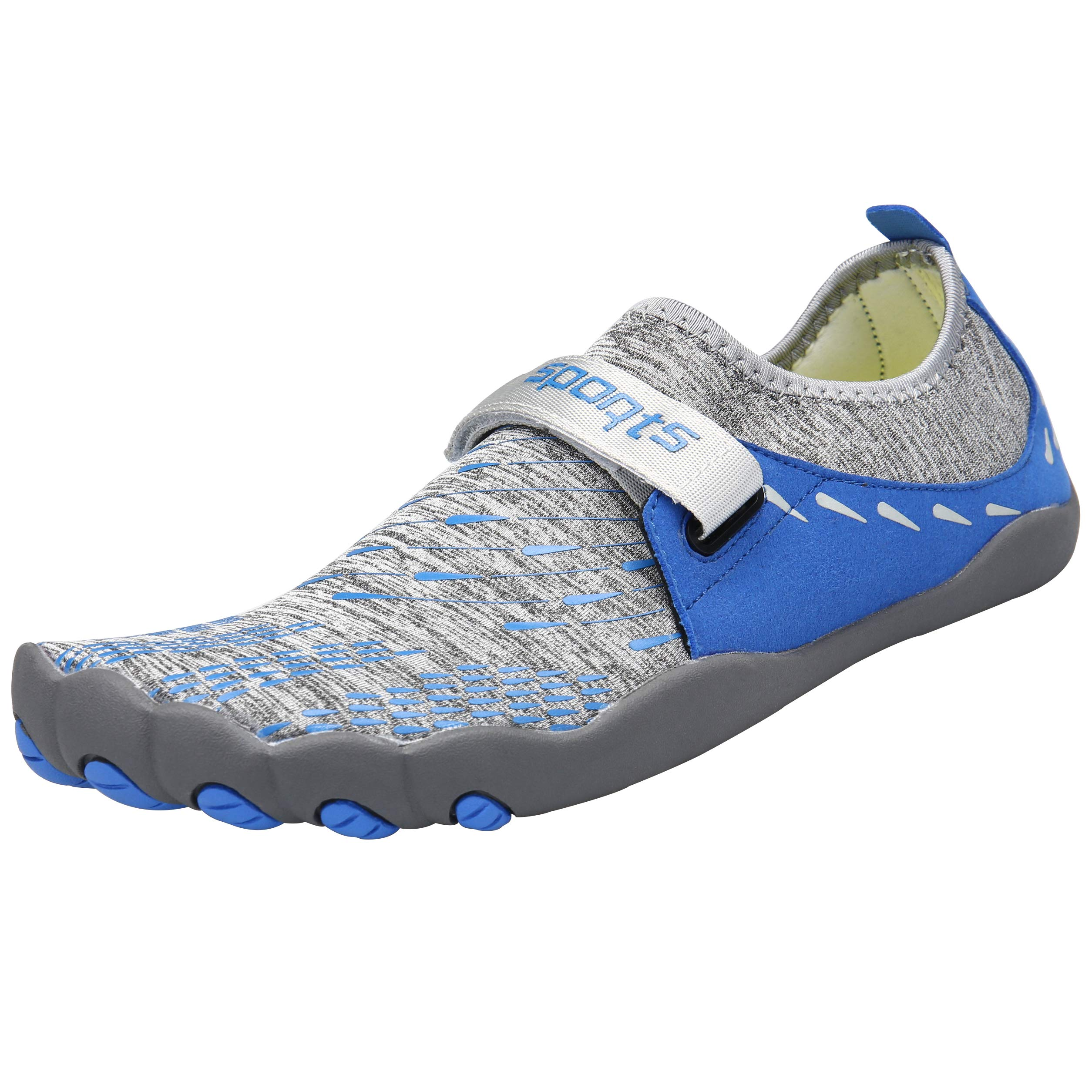 Zcoli Water Shoes for Women Men Barefoot Quick Dry Aqua Yoga Socks for Beach Swim Surf Diving Snorkeling Exercise