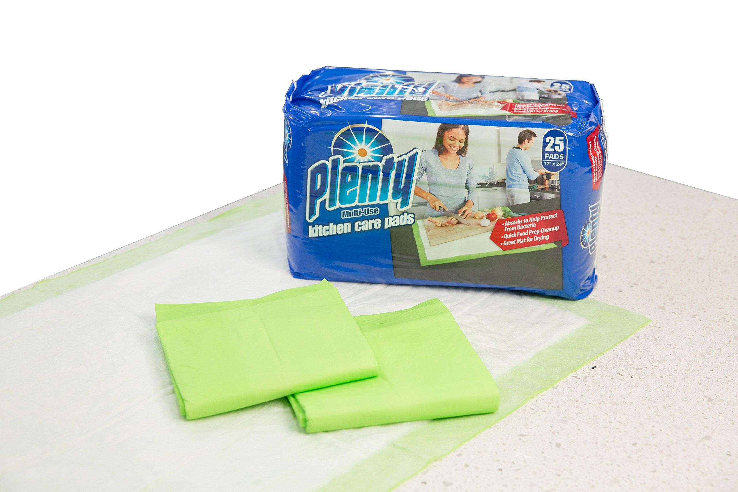 Plenty Kitchen Care Disposable Protection Pads (25 Count)