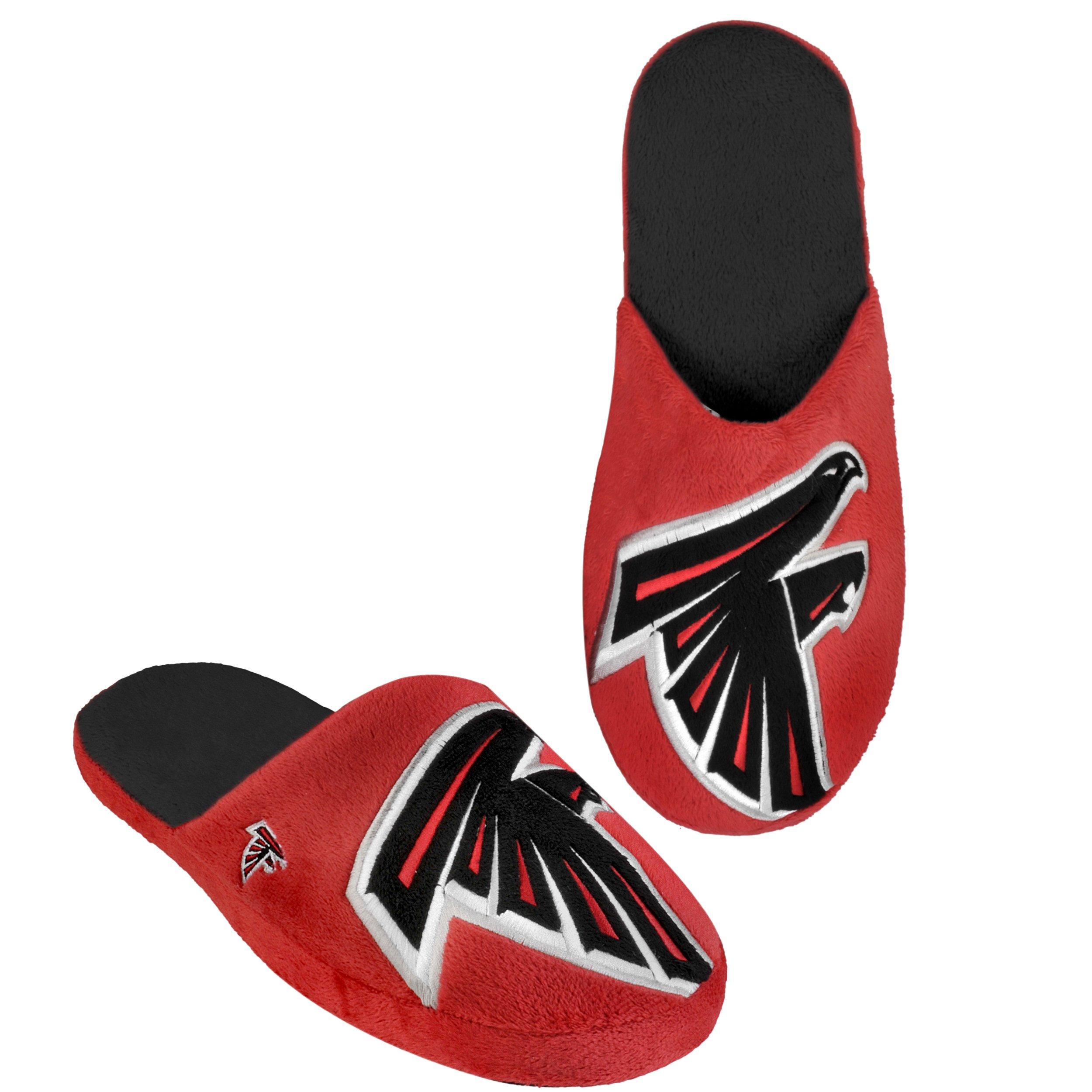 Team Beans NFL Atlanta Falcons Men's Big Logo Slipper
