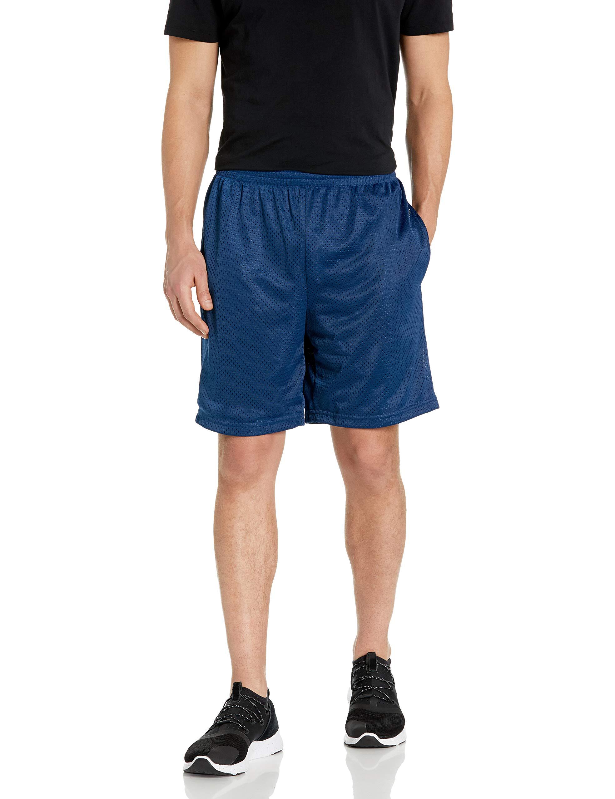 Amazon Essentials Men's Loose-Fit Mesh Basketball Short