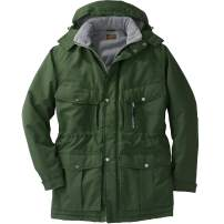 Boulder Creek by Kingsize Men's Big & Tall Fleece-Lined Parka with Detachable Hood and 6 Pockets