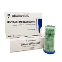 400 Green Regular Disposable Micro Applicator Dental Bendable Brushes