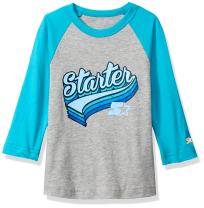 Starter Girls' Distressed Logo Baseball T-Shirt, Amazon Exclusive