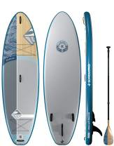 Boardworks SHUBU Kraken All-Water/Surf Inflatable Stand-Up Paddle Board (iSUP) | SUP Package Includes Pump, Three Piece Paddle and Roller Bag (SUP)