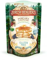 Gluten-Free Pancake and Waffle Mix by Birch Benders, Made with Organic Brown Rice Flour, Potato, Cassava, Hazelnut, and Cane Sugar, Just Add Water, 14 Ounce