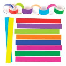 Baker Ross Make Your Own Paper Chains Kit (Pack of 300) for Toddler Art Supplies