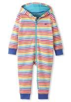 kIDio Organic Cotton Baby Infant Hooded Onesie - Girl Boy (0-2 Years)
