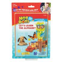 Educational Insights Hot Dot Jr. Let's Learn the Alphabet Interactive Book & Interactive Pen Set, 30 ABC Activites, Homeschool, Preschool Readiness, Ages 3+