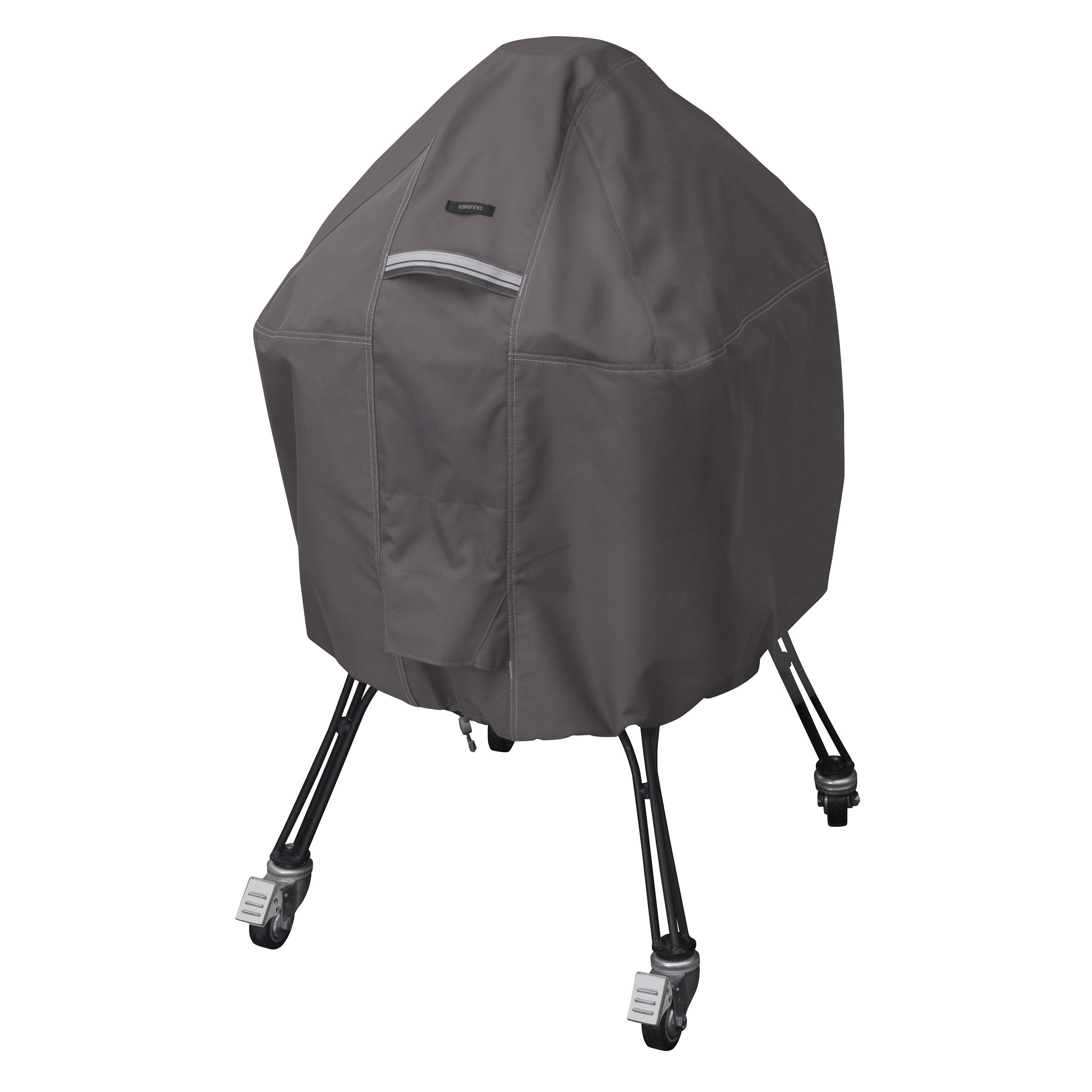 Classic Accessories Ravenna Water-Resistant 22 Inch Kamado Ceramic BBQ Grill Cover
