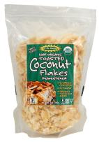 Let's Do Organic Unsweetened Organic Coconut Flakes Toasted, 25 Pounds
