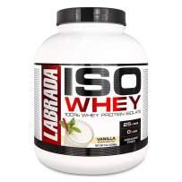 Labrada Nutrition ISO LeanPro 100% Premium Whey Protein Isolate Powder, Strawberry, 5 Pound