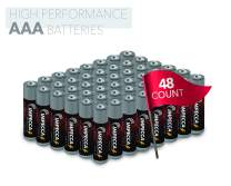 Impecca AAA Batteries, All-Purpose Triple A Alkaline Battery for Everyday (48-Pack) High Performance, Long Lasting Shelf Life, for Clocks, Remotes, Toys & Electronic 48-Count – Platinum Series