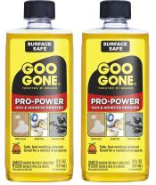 Goo Gone Pro-Power Adhesive Remover - 8 Ounce (2 Pack) - Use on Silicone, Caulk, Contractor's Adhesive, Tar, Adhesive and More