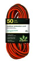 GoGreen Power GG-13750 - 16/3 50' SJTW Outdoor Extension Cord - Lighted End