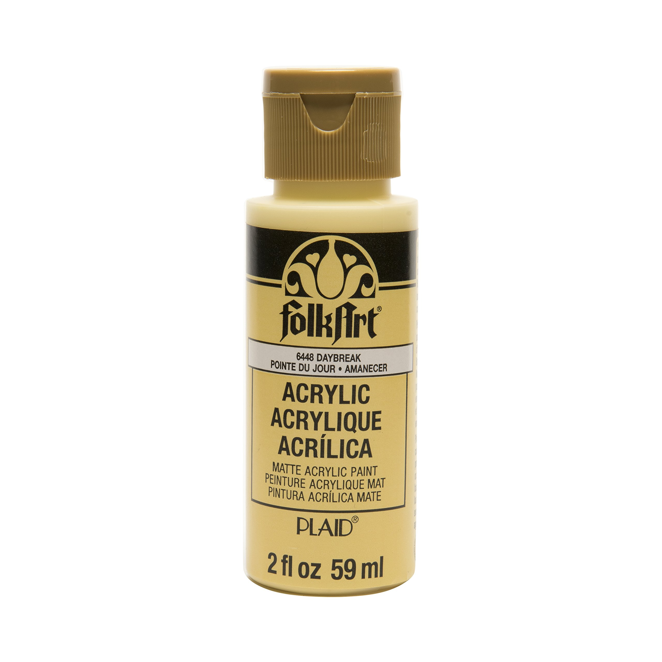 FolkArt Acrylic Paint in Assorted Colors (2 oz), 6448, Daybreak