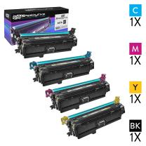 Speedy Inks Compatible Toner Cartridge Replacement for HP 647X 647A High-Yield (1 Black, 1 Cyan, 1 Magenta, 1 Yellow, 4-Pack)