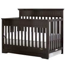 Dream On Me Chesapeake 5-in-1 Convertible Crib, Mocha, Full Size