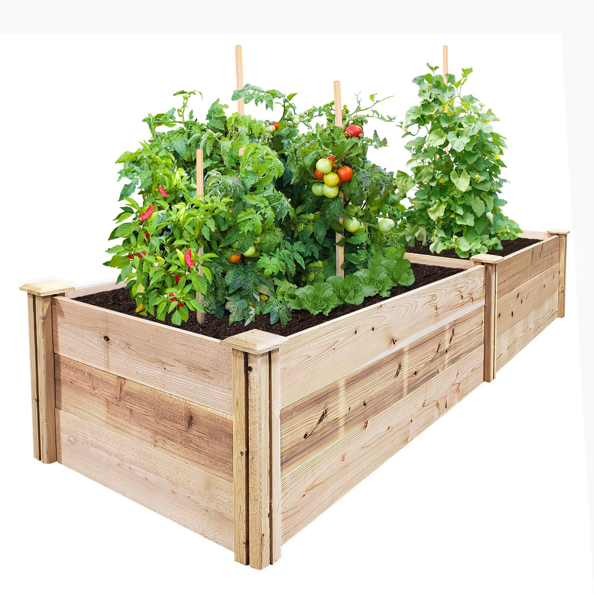 Greenes Fence Premium Cedar Raised Garden Bed