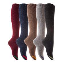 Lian LifeStyle Women's Fashion Knee High Cotton Socks L158212 Size 6-9