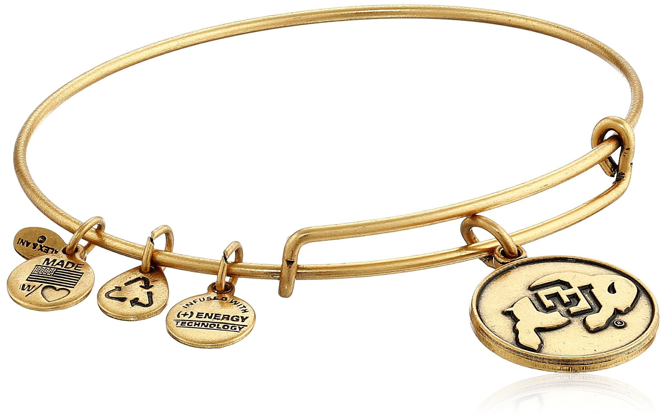 Alex and Ani University of Colorado Logo Expandable Bangle Bracelet