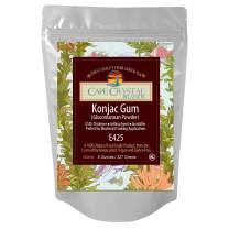 Premium Konjac Gum Glucomannan Powder | Thickening Agent - (K) Kosher (8 Oz)