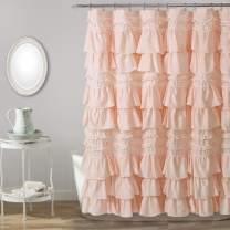 """Lush Decor, Blush Kemmy Shower Curtain, 72"""" x 72"""""""