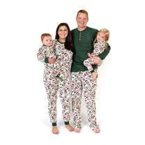 Burt's Bees Baby - Family Jammies, Holiday Matching Pajamas, Organic Cotton PJs