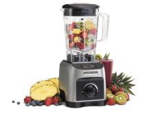 Hamilton Beach Professional 1800W Blender with 64oz BPA Free Jar, Variable Speed Dial for Puree, Ice Crush, Shakes and Smoothies, Silver (58800)