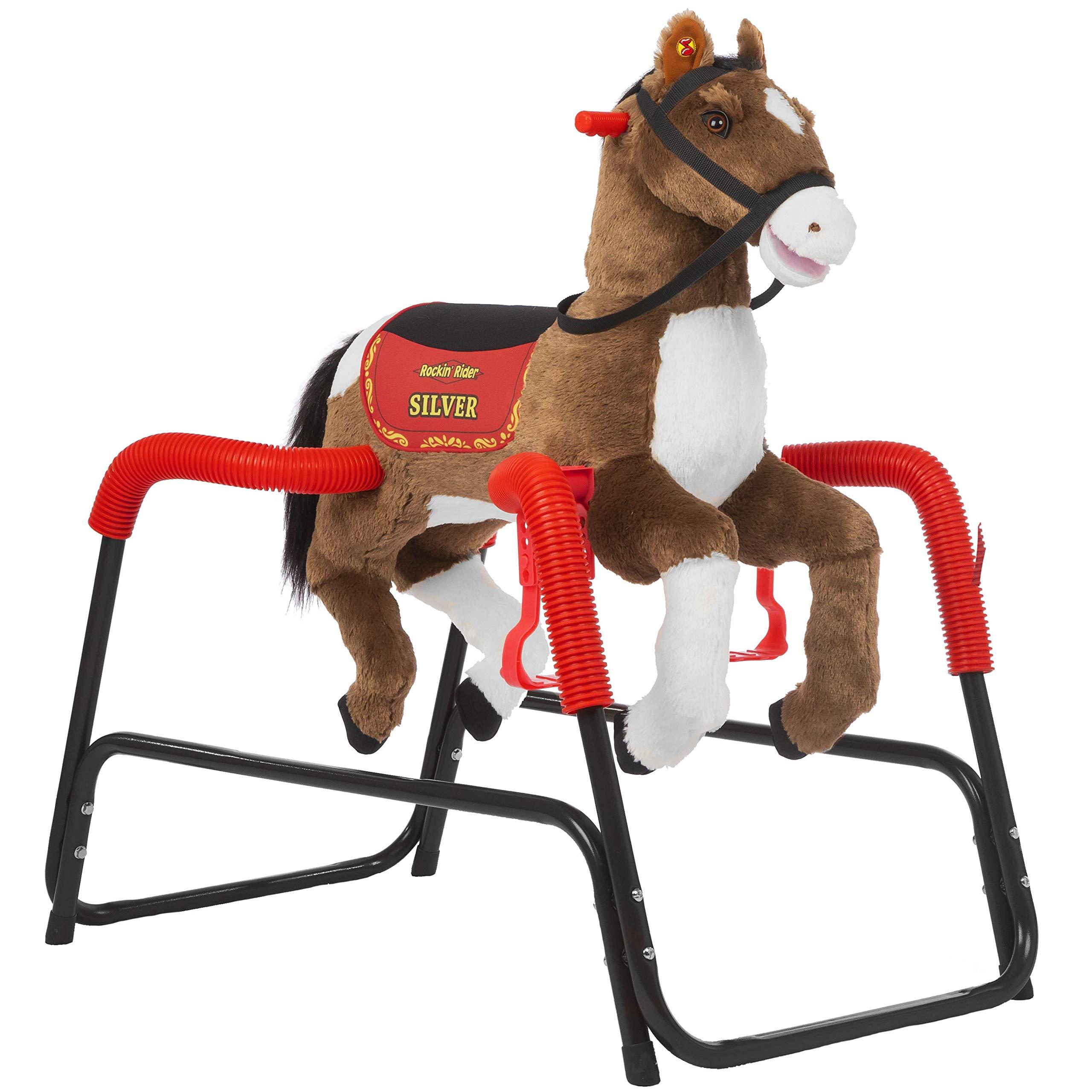 Rockin' Rider Silver Spring Horse, Brown