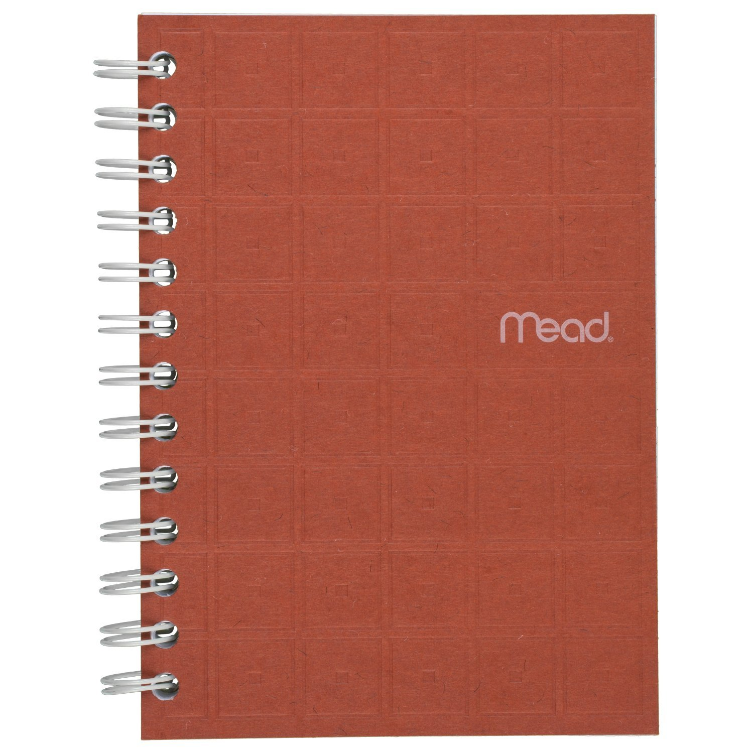 """Mead Spiral Notebook, College Ruled Paper, 80 Sheets, 7"""" x 5"""", Recycled, Assorted Colors (45186)"""