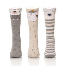 Color City Unisex Baby Socks Knee High Socks - Cartoon Animal Warm Cotton Boys Girls Stockings