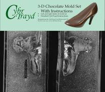Cybrtrayd DOG001AB Chocolate Candy Mold, Includes 3D Chocolate Molds Instructions and 2-Mold Kit, Labrador Retriever
