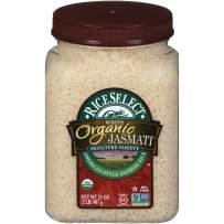 RiceSelect Organic Jasmati Rice, 32 Ounce (1 Count)