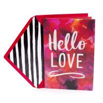 Hallmark Mahogany Valentine's' Day Card (Jill Scott Collection, Hello Love)
