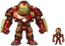 "Jada Toys Marvel Avengers: Age of Ultron - 6"" Hulkbuster & 2"" Iron Man (M132) Metals Die-Cast Collectible Toy Figure"