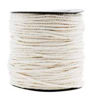 Macrame Cord Cotton Rope Macrame Supplies 3 Ply Twisted Macrame Rope String Yarn for Plant Hanger Wall Hanging Knitting Wedding Décor by Mandala Crafts Natural 3mm 109 Yards